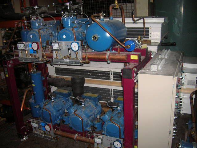 Frascold Q728Y + D319Y Cooling Compressor