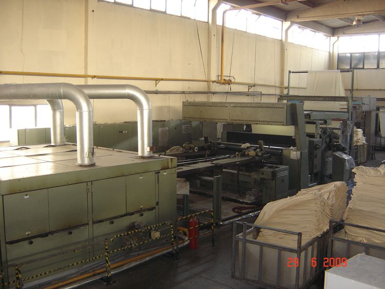 Monforts Montex 2400mm Monforts Montex 2400mm gas heated 6 chambers