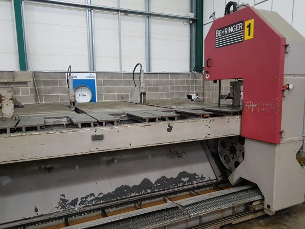 Behringher LPS40-4-A Fully Block Saw Automatic