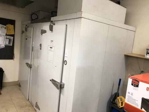 Curtis COMBO WALK IN COOLER AND FREEZER