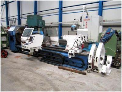 TOS CNC Fagor 8050 450 rpm SU 125 CNC 2 Axis