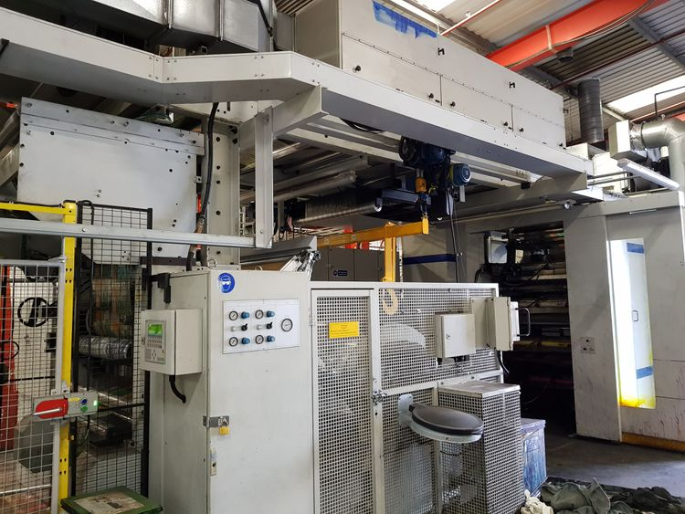 Fischer & Krecke (F&K) 16 s, Flexoprinting machine 8 1000 mm