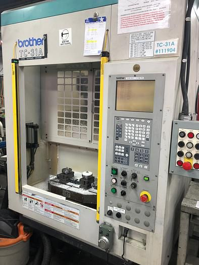 Brother Tc-31A Cnc Drilling & Tapping Center Variable