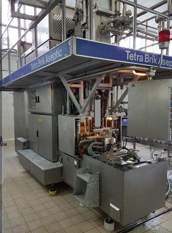 Tetra Pak TBA 19 250 ml Base Filling Machine