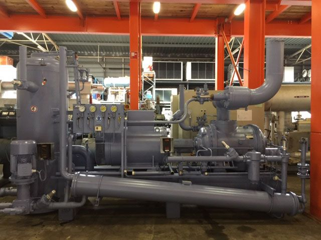 Howden 1223 kW/360 tons