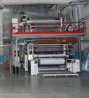 W & H Varex 3 layer Blown Film Line
