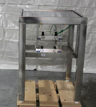 NTA Industries Isolation Table All Stainless Steel