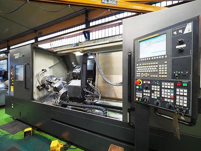 Doosan FANUC i-Series CNC 3000 Rpm PUMA 3100 XLY 2 Axis