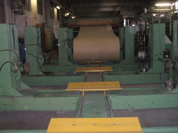 Jagenberg 2400/2500 mm Duplex Board Sheet Cutter, selling cheap, prof. dismantled