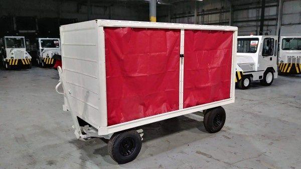 5 Bentz (Single-Sided) Baggage Cart