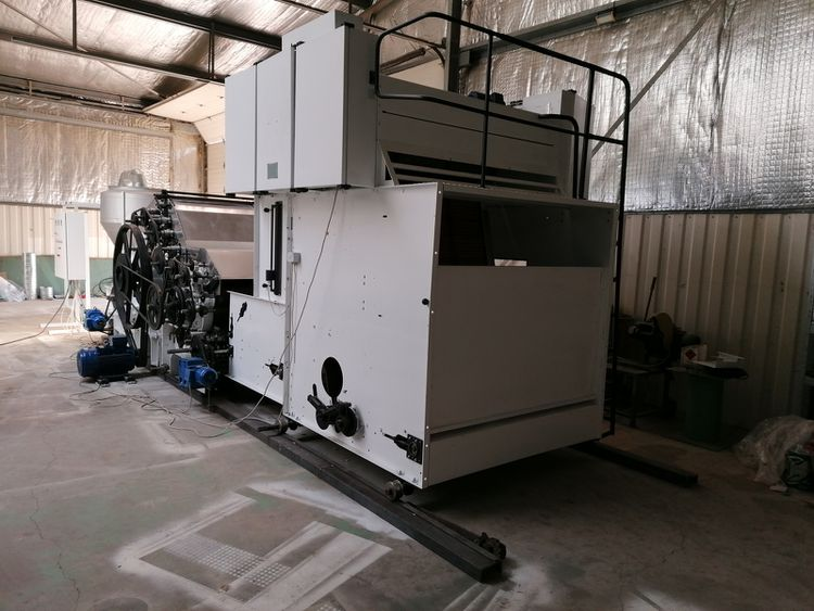 Befama 1T, CU600 Complete line for fiber ball production