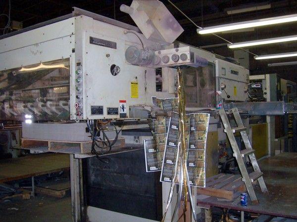 Bobst SP 126 BMA, Foil Stamper