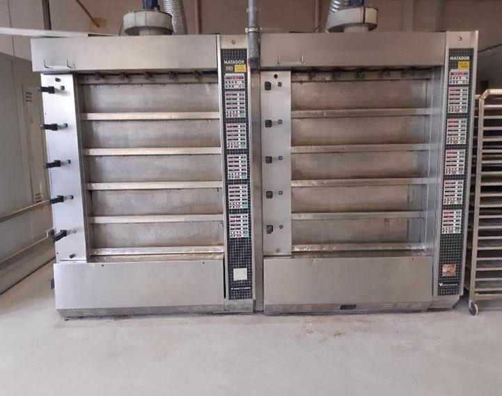 WP Matador deck oven