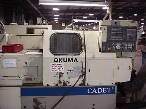 Okuma Okuma OSP 700 CNC 4200 RPM CADET BIG BORE 2 Axis