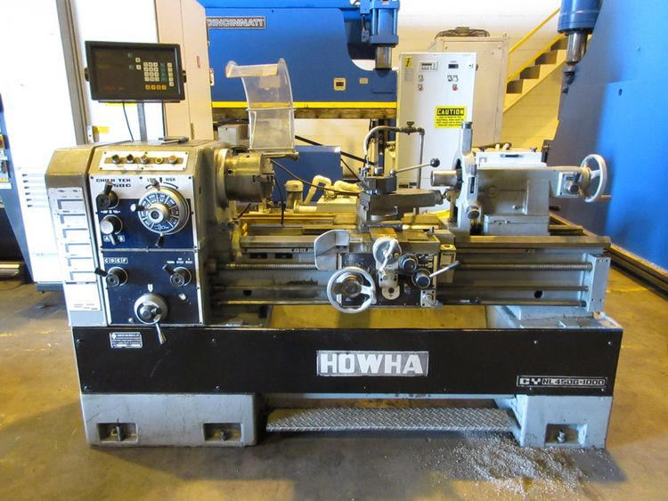 "GAP BED ENGINE LATHE 2000 rpm HOWHA CY NL 450G-1000 (17"" x 40"")"