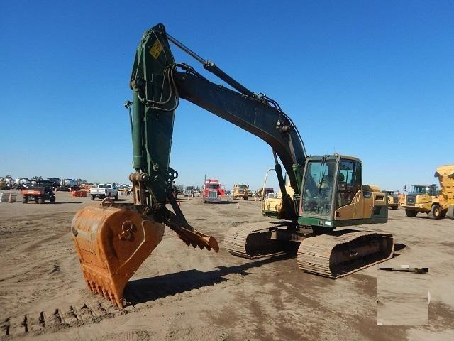 Volvo EC220DL Tracked Excavator