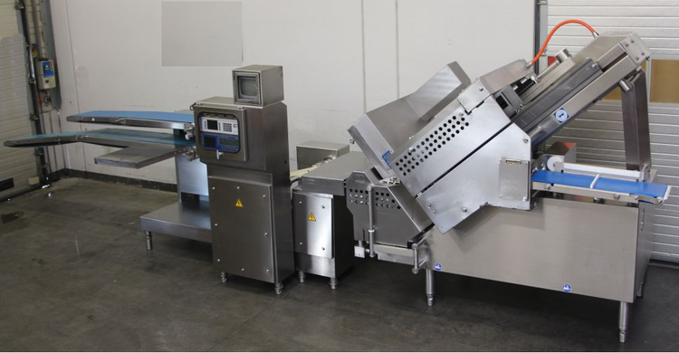 Weber CCS 902 SLC, High Capacity Slicing Machine with weighing line