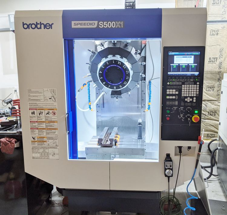 Brother SPEEDIO S500X1 10000 rpm