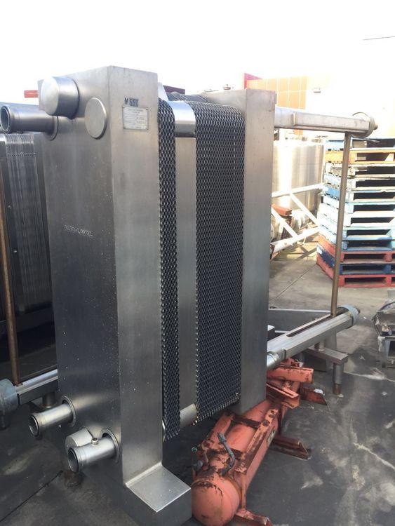Alfa Laval P45 RB Plate Heat Exchanger / Pasteurizer