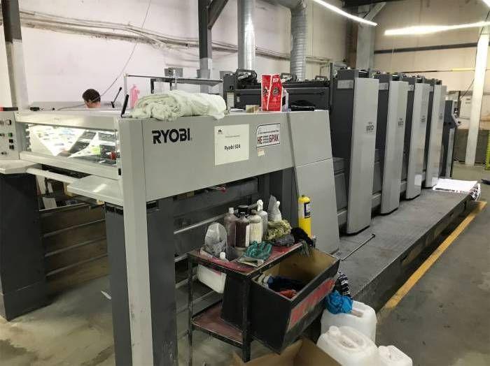 Ryobi 924, Sheetfed offset machine 4 92 x 64 cm