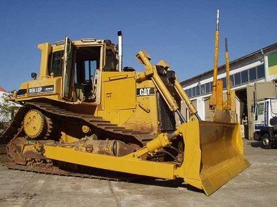 Caterpillar D6H LGP Serie II Bulldozer