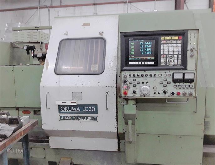 Okuma Okuma OSP-5000LG 3000 RPM LC-30-2ST/250 Chucker 2 Axis