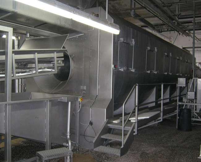 Berief, Schroder Jumbo KODUKO 16-500 Cooking Line