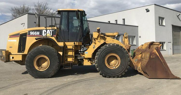 Caterpillar 966 H Wheel Loader