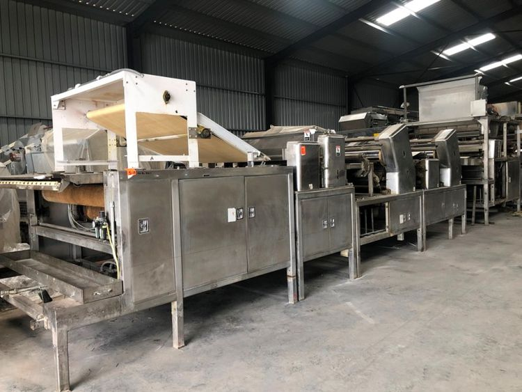 Thomas L Green 60-in Biscuit Sheeting Line