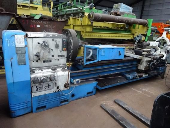 Sculfort Engine Lathe Variable Maxicap