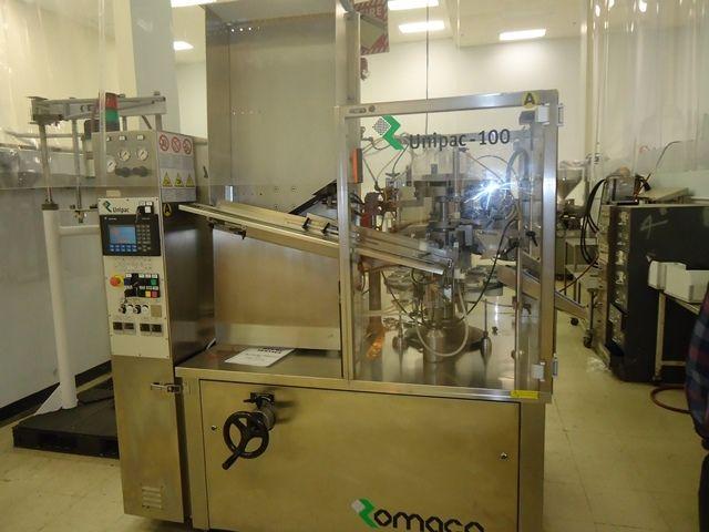 Unipac Silver 100 Automatic Plastic Tube Filler/Sealer