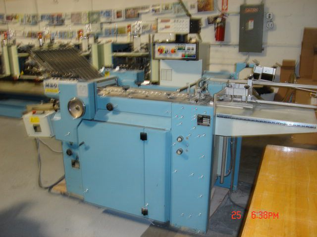 MBO T-49, Folding machine