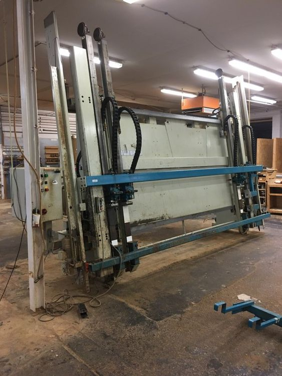 Maweg Quickomat, Frame Press