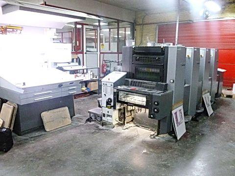 Heidelberg SM52-4 37 x 52 cm