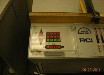 Roland 204. 4 Colors Offset Machine Max. 36 x 52 cm