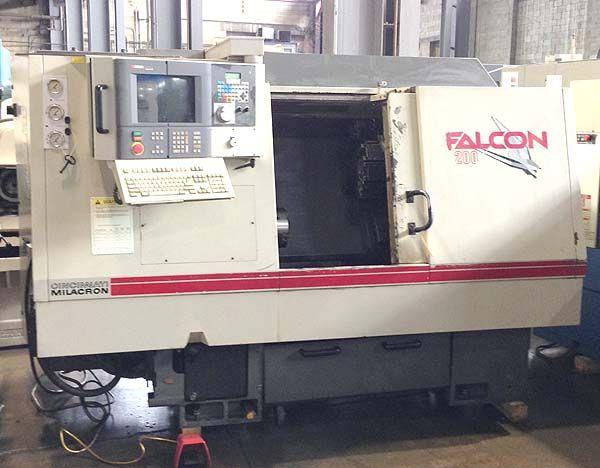 Cincinnati Siemens Acramatic 2100 CNC Control 4500 RPM Falcon 200 2 Axis