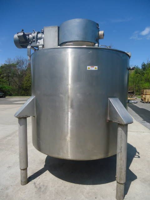Lee 1000U9MS DOUBLE MOTION JACKETED KETTLE/TANK