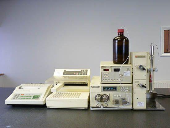 Shimadzu LC-8A PREP SYSTEM