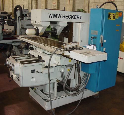 WMW Heckert FW 450x1800 PLAIN HORIZONTAL MILL 2240 rpm