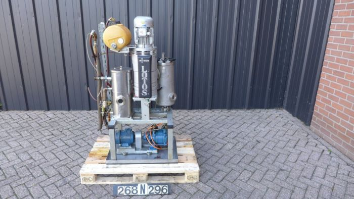 Busch LOTOS Pump vacuum rotary vane