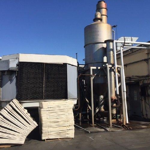 Femco Single Effect Evaporator 5,000 LBS. per hr