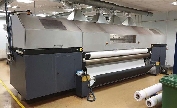 Durst Phototechnik RHOTEX 322, Digital Printing Machine 8 320 cm