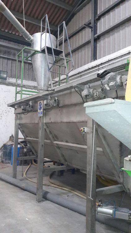 USED WASHING LINE 800 kg/h USED WASHING LINE 800 kg/h
