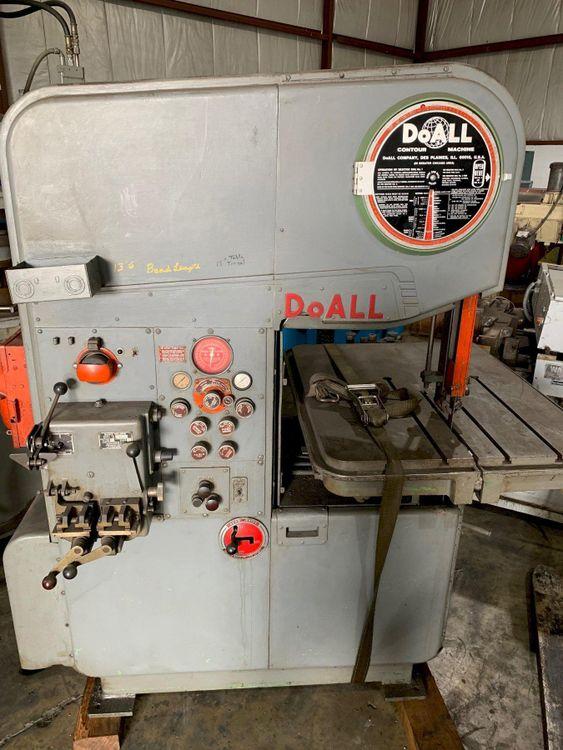 DoAll MP-20 BandSaw Semi Automatic