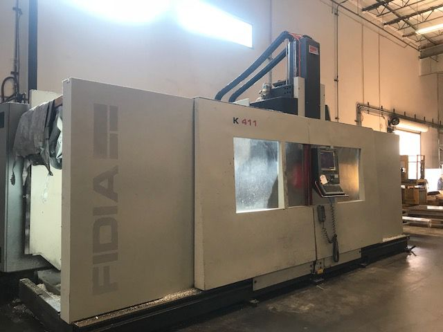 Fidia K-411 5 Axis