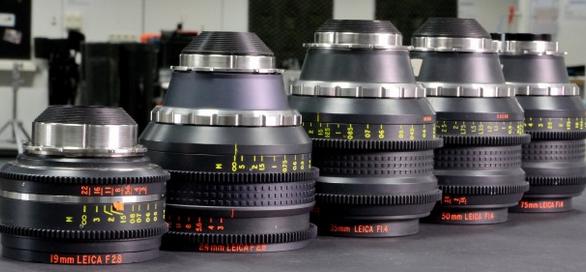 Leica Van Diemen lens Set