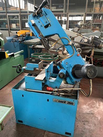Carif 260 BM Horizontal Bandsaw Semi Automatic