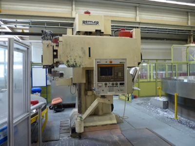 ROTTLER KM 1075-8.89 CNC Vertical Boring Mill