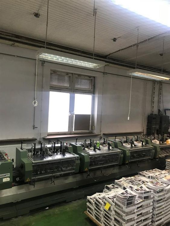 MULLER MARTINI PRESTO Collating and Stitching Line