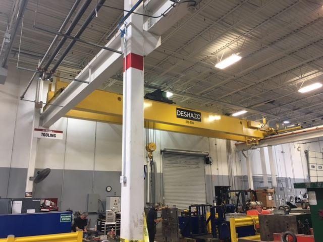Deshazo Double girder 20 US ton Bridge Crane